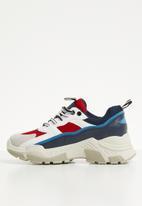 Superbalist - Evie sneaker - navy & red