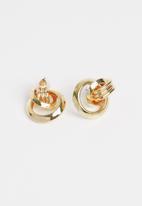 Superbalist - Eliz link earrings - gold