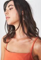 Cotton On - Carissa bodysuit - orange