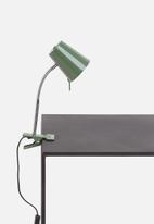 Present Time - Z clip on lamp - jungle green