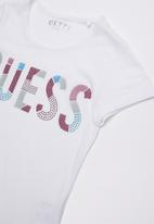 GUESS - Guess loose fit tee - white