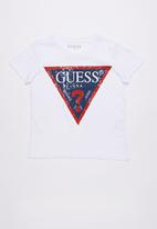 GUESS - Iconic tri tee - white