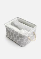 Sixth Floor - Medium storage box - grey