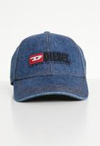 Diesel  - Ncince curved peak cap - blue