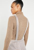 Superbalist - Dungaree jumpsuit - brown