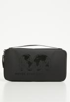 The North Face - Stratoliner passport wallet - black