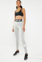 Nike - Club high waisted  legging - grey & black