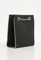 Superbalist - Studded detail tote bag - black