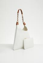 Superbalist - Erin shopper bag - white