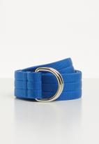 Superbalist - Keegan canvas belt - blue