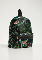 dailyfriday - Black oriental backpack - multi