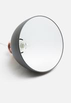 Present Time - Refine metal pendant lamp - black & copper