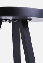 Sixth Floor - Side table - black