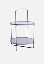 Sixth Floor - Shelf side table - grey