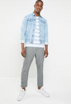 STYLE REPUBLIC - Casual stripe T-shirt - blue & white