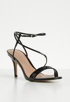 Call It Spring - Cascaped stiletto - black