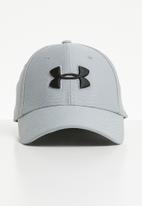 Under Armour - Men's heathered blitzing 3.0 cap - grey & black