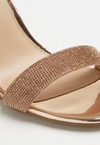 Steve Madden - Crysler heel - rose gold