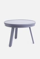 Sixth Floor - Coffee table with tray - grey