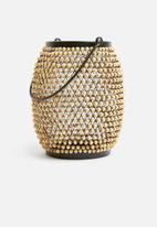 Sixth Floor - Obi lantern - black/natural