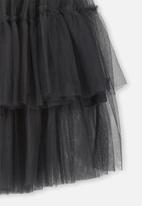 Cotton On - Trixiebelle tulle skirt - black