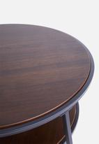 Sixth Floor - Dark oak coffee table - natural