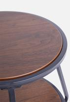 Sixth Floor - Dark oak side table - natural