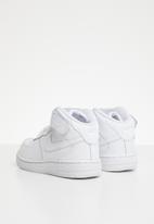 Nike - Nike air force 1 mid sneaker - white