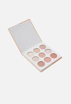 Cotton On - Rubi eyeshadow  palette - 9 colour - summer in Italy