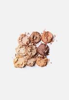 Cotton On - Rubi eyeshadow palette - 9 colour - golden hour