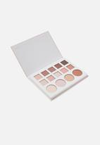 Cotton On - Rubi eyeshadow palette - 14 colour - weekend away