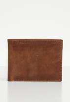 Superbalist - Bifold leather wallet - tan