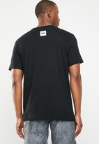 RVCA - Short sleeve tee - black