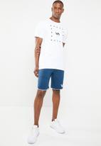 RVCA - Short sleeve tee - white