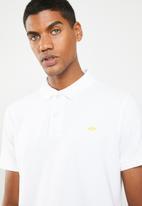 STYLE REPUBLIC - Crown piquet golfer - white