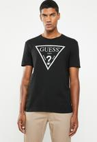 GUESS - Core triangle tee - black