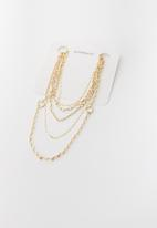 Superbalist - Mila multi chain necklace - gold