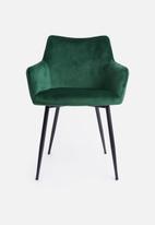 Sixth Floor - Moken dining chair - emerald