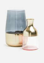 SF Collection - Clairo vase - gold/pink