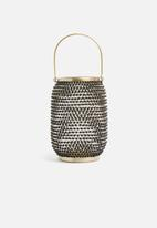 Sixth Floor - Rhea lantern - gold/black