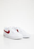 Nike - Air force 1 sneakers - white & red