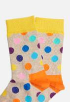 Happy Socks - Big dot sock - multi