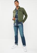 Jack & Jones - Kahula short sleeve shirt -  green