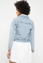 dailyfriday - Pearl denim jacket - blue