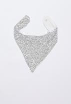 Cotton On - Dribble bib - vanilla phantom dots