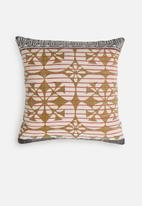 Sixth Floor - Alara cushion cover - mustard