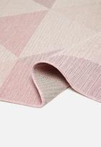 Hertex Fabrics - Troika rug - blush