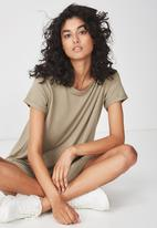 Cotton On - Tina T-shirt dress - khaki