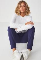 Cotton On - Adele trackpant - blue