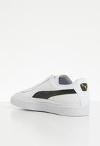 PUMA - Basket Skate - Puma White-Puma Black